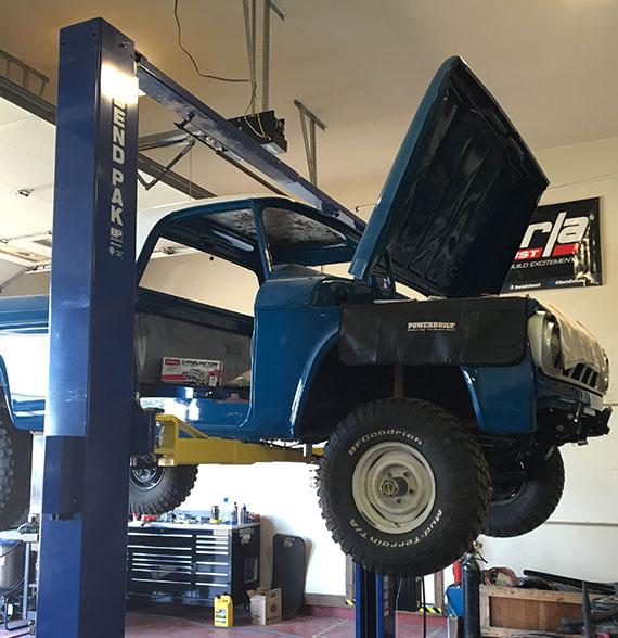 3 stage restoration process legacy classic trucks for Legacy restoration