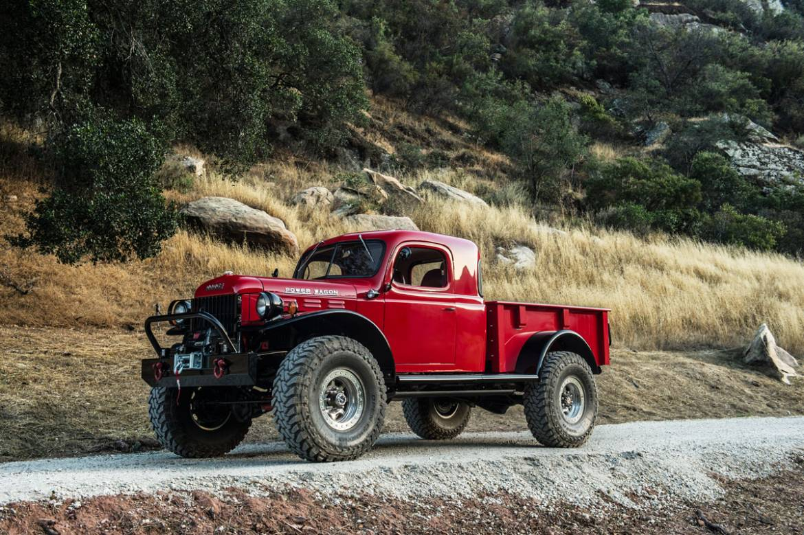 Legacy Power Wagon Extended Conversion Dodge 1954 Crew Cab