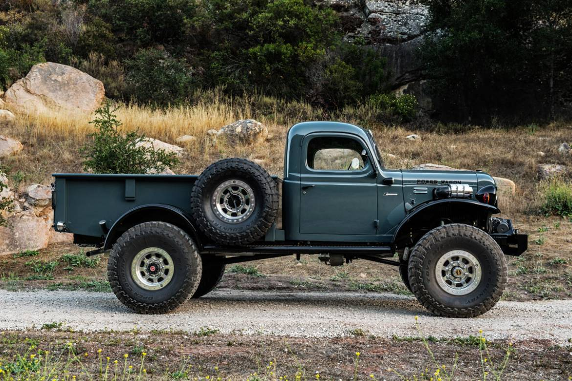 Legacy Power Wagon 2dr Conversion Dodge Power Wagon 2dr