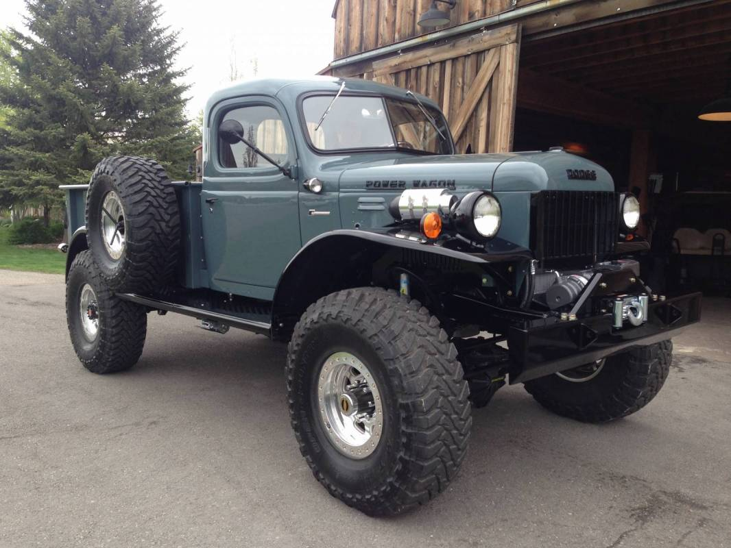 1947 dodge power wagon 2dr for Motorized wagon for sale