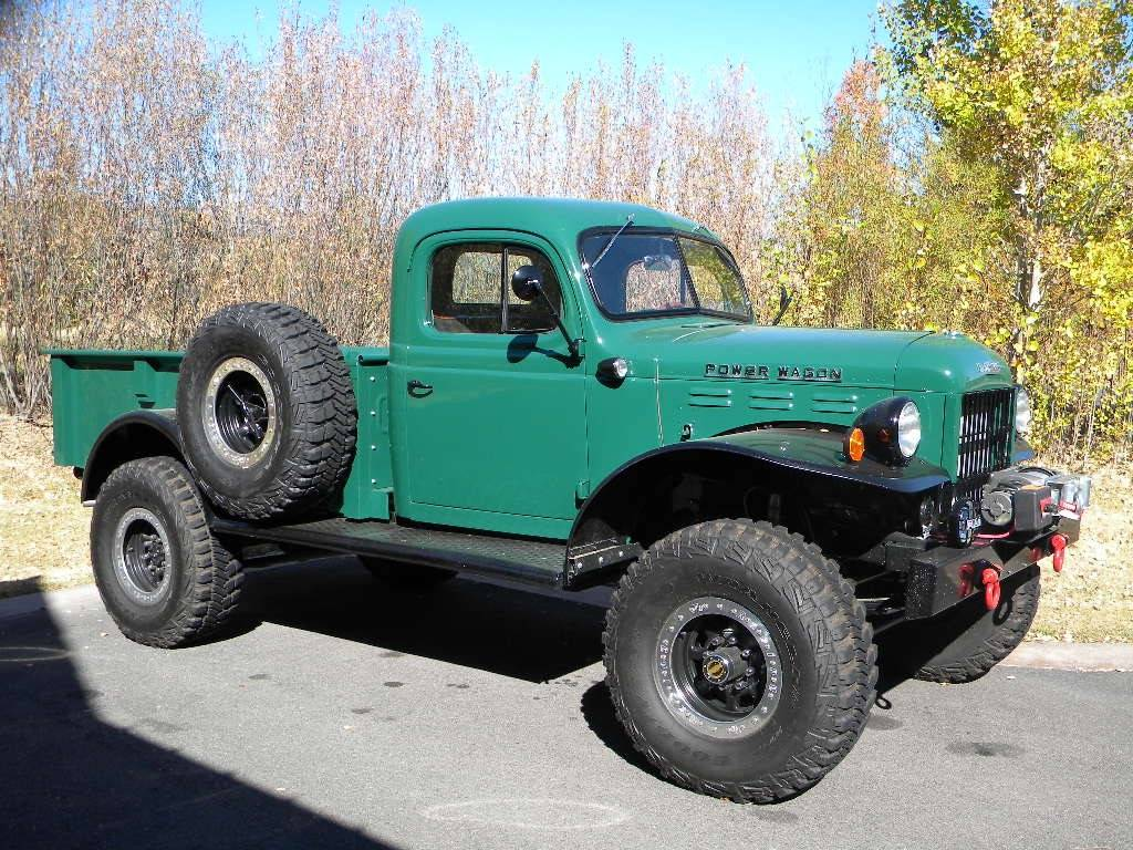 1947 Dodge Power Wagon 2dr Legacy Classic Trucks Inventory