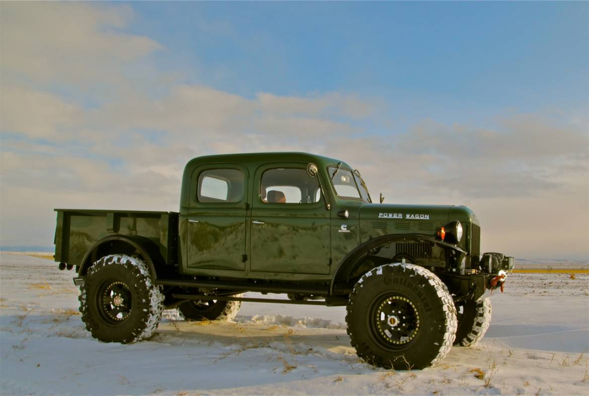 1948 dodge power wagon 4dr for Motorized wagon for sale