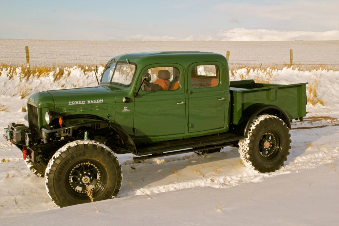 Dodge Power Wagon Dr Long Bed