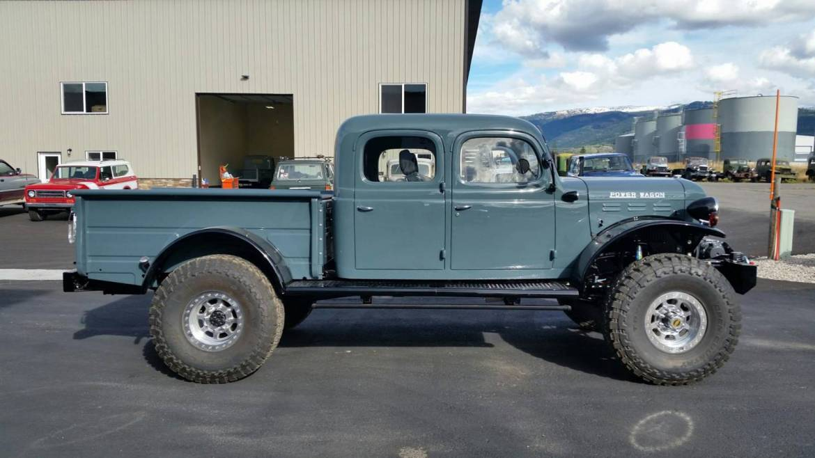 Old Dodge Power Wagon For Sale >> 1949 Dodge Power Wagon 4dr