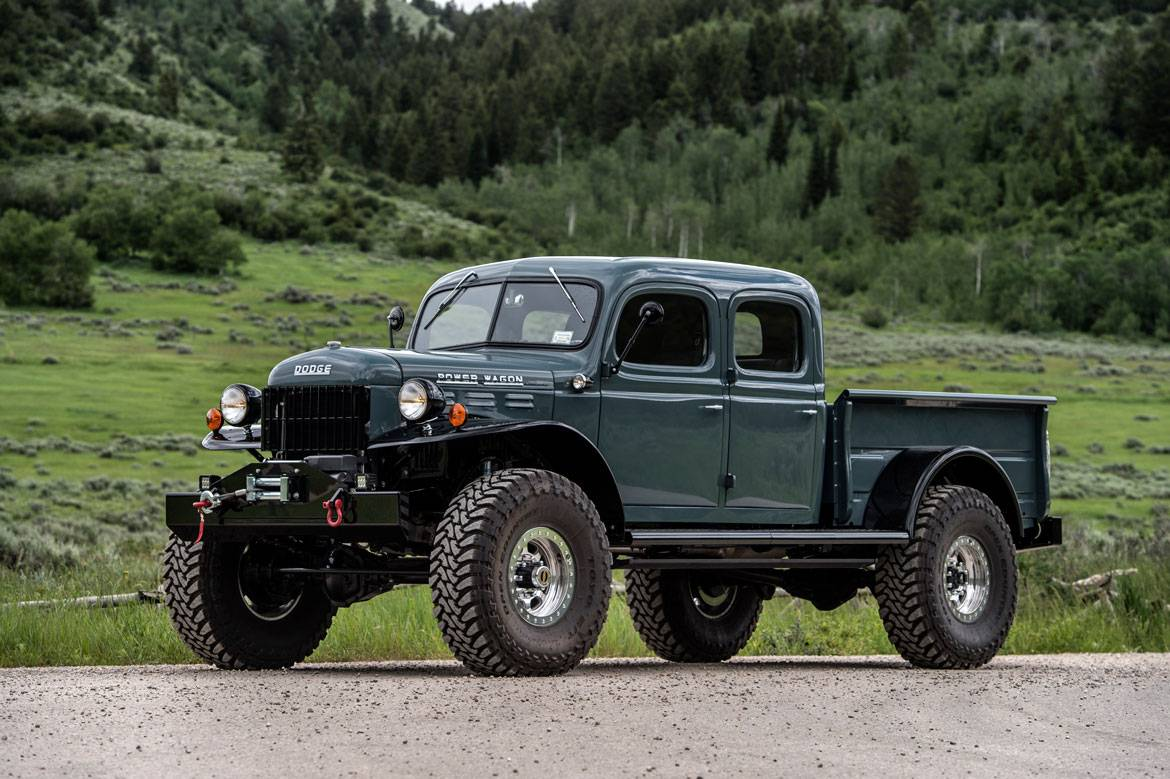 Dodge Build Your Own >> Legacy Power Wagon 4DR Conversion | Dodge Power Wagon 4DR | Build Your Own
