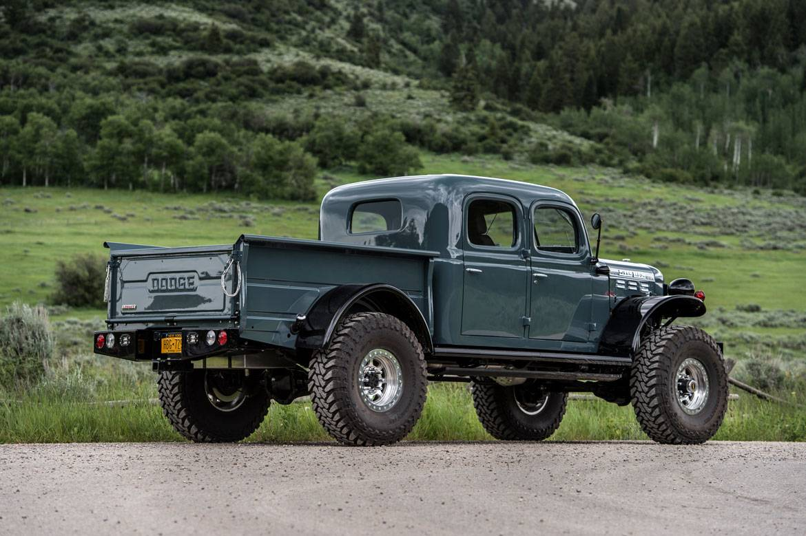 Power Wagon Build >> Legacy Power Wagon 4DR Conversion | Dodge Power Wagon 4DR | Build Your Own