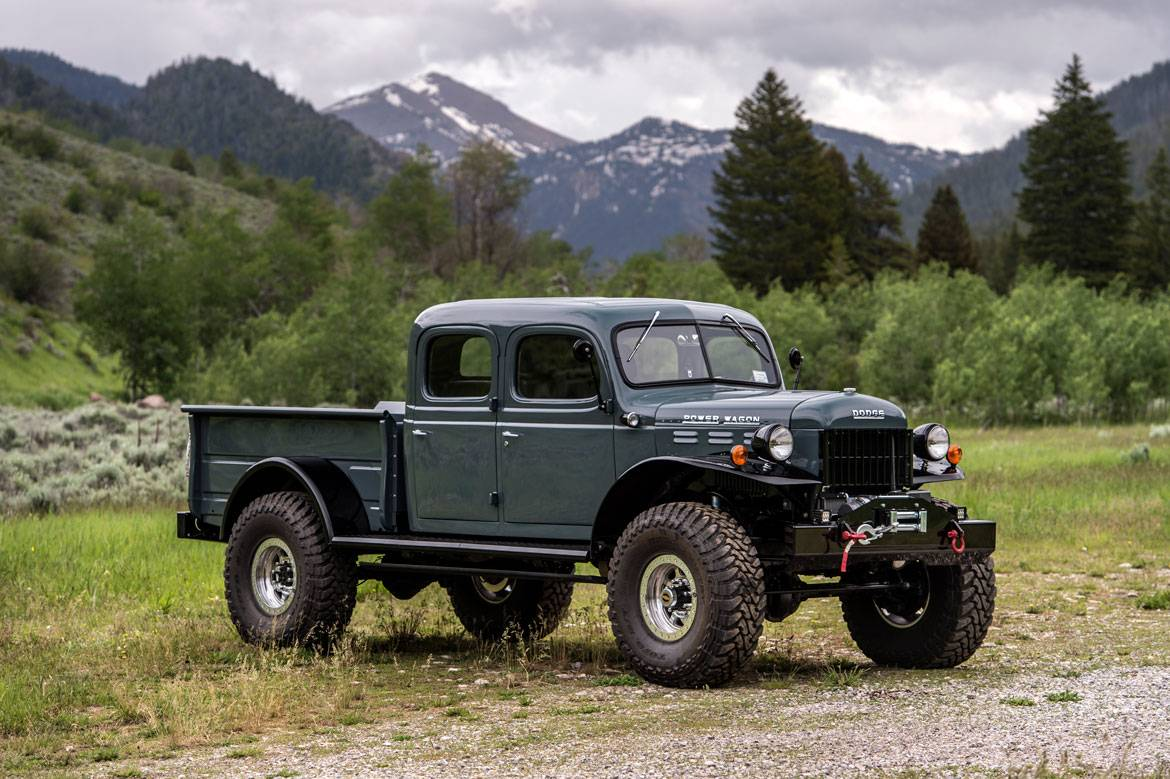 Old Dodge Ram >> Legacy Power Wagon 4DR Conversion | Dodge Power Wagon 4DR | Build Your Own