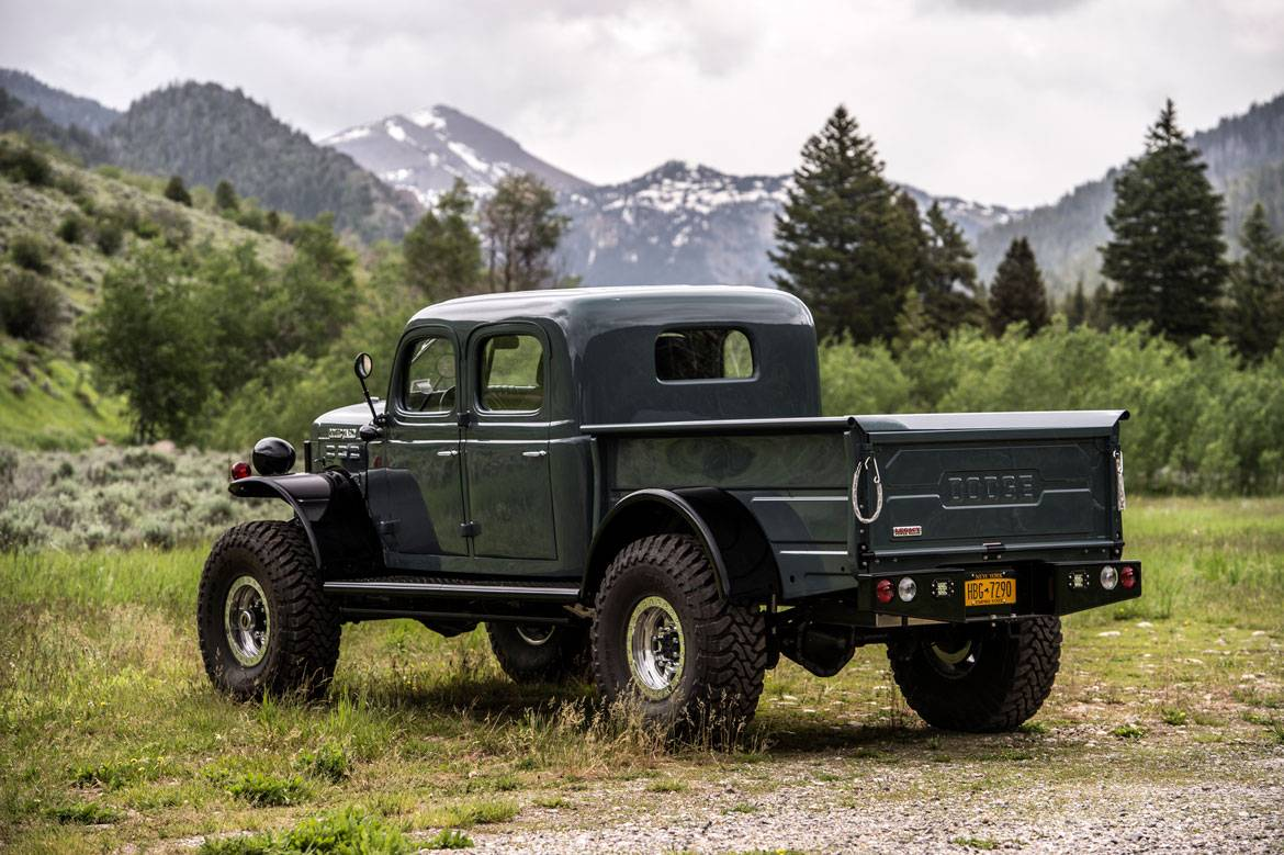 Legacy Power Wagon 4dr Conversion Dodge Power Wagon 4dr Build