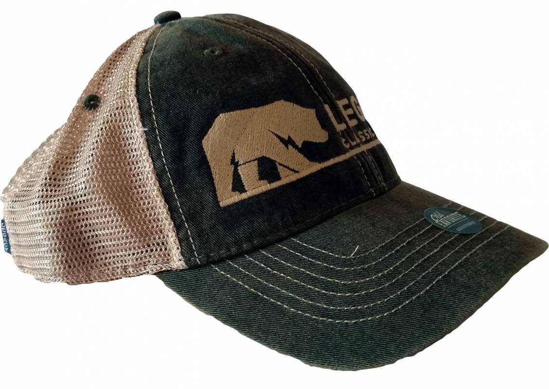 Legacy Classic Trucks Lifestyle   Apparel - Legacy Trucker Hat - Army Green bc98d096a42