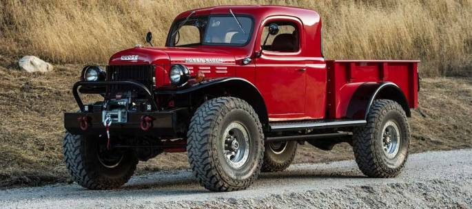 Legacy Classic Trucks - Build Your Own - Legacy Power Wagon Extended Conversion - Build Your Own