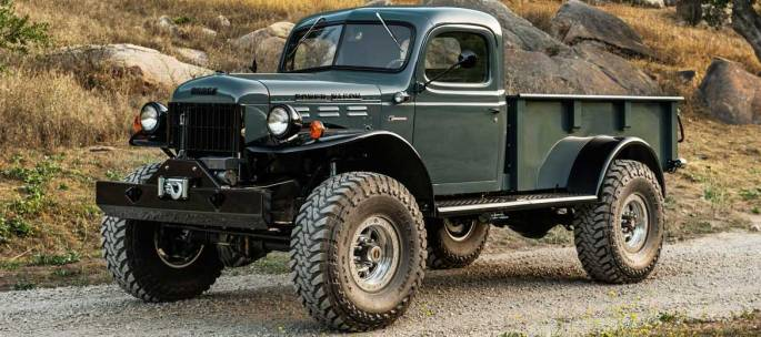 Legacy Classic Trucks - Build Your Own - Legacy Power Wagon 2DR Conversion - Build Your Own
