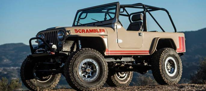 Legacy Classic Trucks - Build Your Own - Legacy Scrambler Conversion Dualsport V8