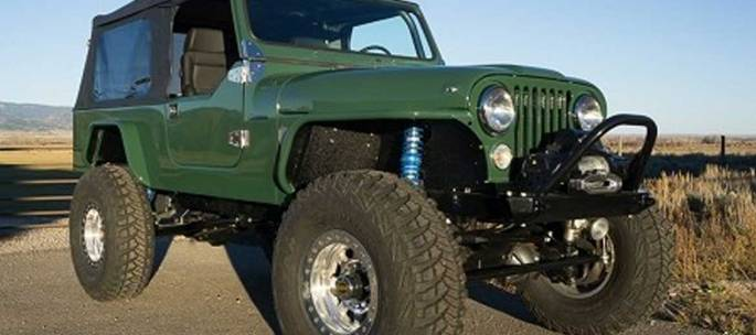 Legacy Classic Trucks - Build Your Own - Legacy Scrambler Conversion Classic V8