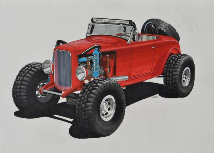 Legacy Classic Trucks Inventory - 1932 Ford Roadster