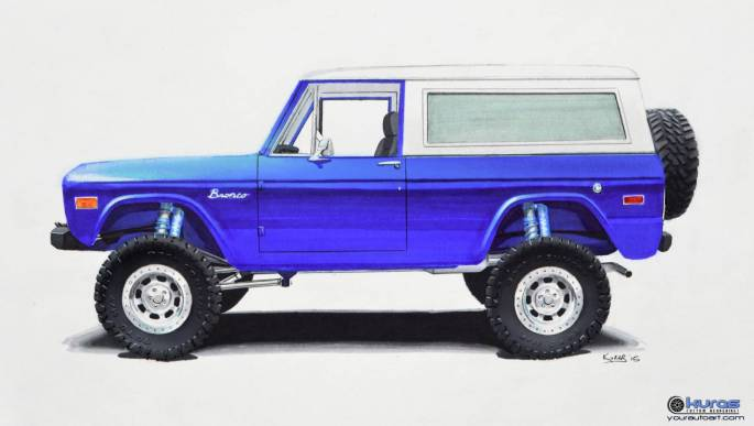 Legacy Classic Trucks Inventory - 1968 Ford Bronco X-Cab