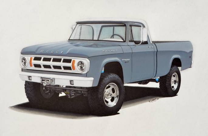 Legacy Classic Trucks Inventory - 1970 Dodge Power Wagon 2DR