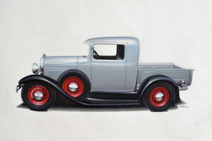 Legacy Classic Trucks Inventory - 1930 Ford Model A