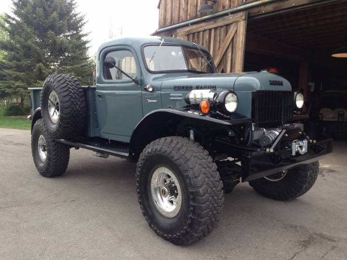 New Jeep Scrambler >> 1947 Dodge Power Wagon 2DR