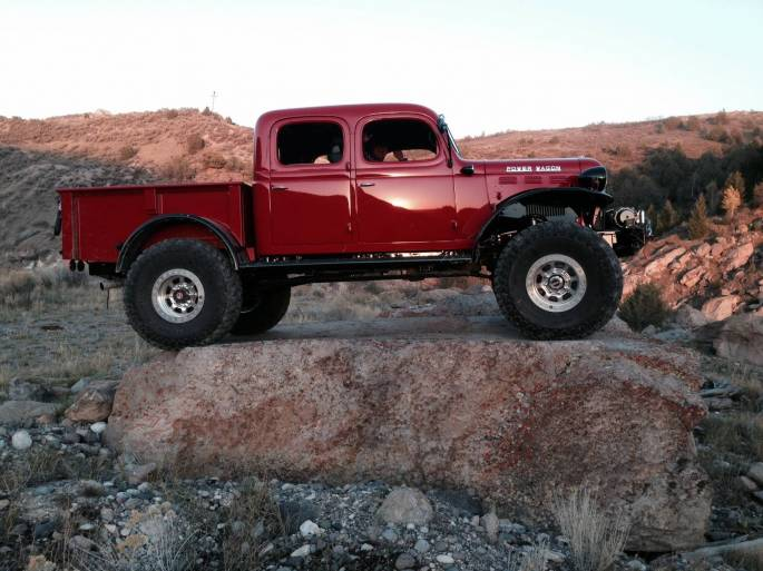 Legacy Classic Trucks Inventory - 1947 Dodge Power Wagon 4DR