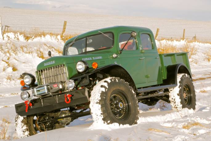 Legacy Classic Trucks Inventory - 1948 Dodge Power Wagon 4DR