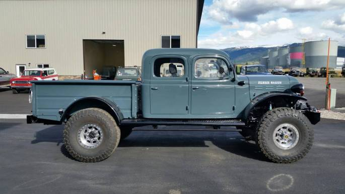 Legacy Classic Trucks Inventory - 1949 Dodge Power Wagon 4DR