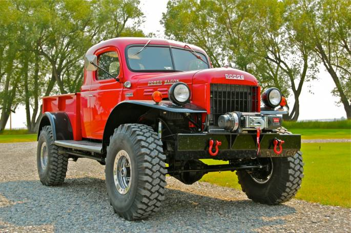 Legacy Classic Trucks Inventory - 1950 Dodge Power Wagon X-Cab