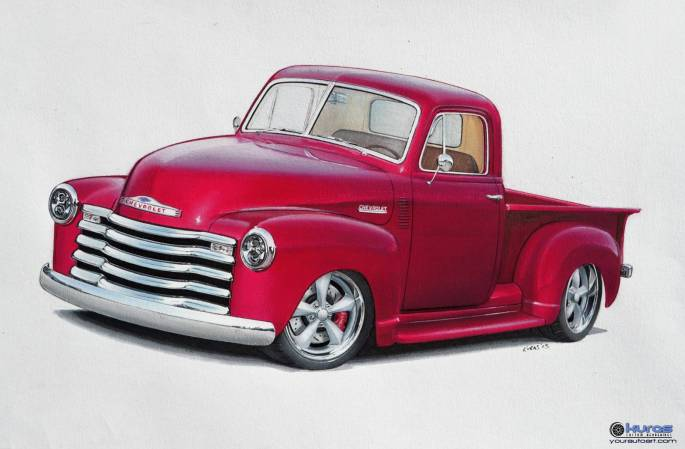 Legacy Classic Trucks Inventory - 1952 Chevy Advanced Design
