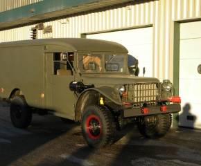 Legacy Classic Trucks Inventory - 1958 Dodge M42 Ambulance