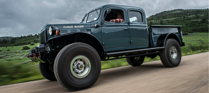 Legacy Classic Trucks - Build Your Own - Legacy Power Wagon 4DR Conversion - Build Your Own