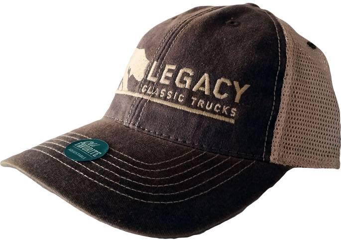 Legacy Classic Trucks Lifestyle & Apparel - Legacy Trucker Hat - Brown