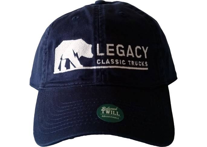 Legacy Classic Trucks Lifestyle & Apparel - Legacy Twill Hat - Navy