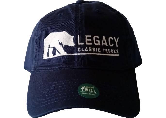 Legacy Classic Trucks Lifestyle & Apparel - Legacy Twill Hat - Navy