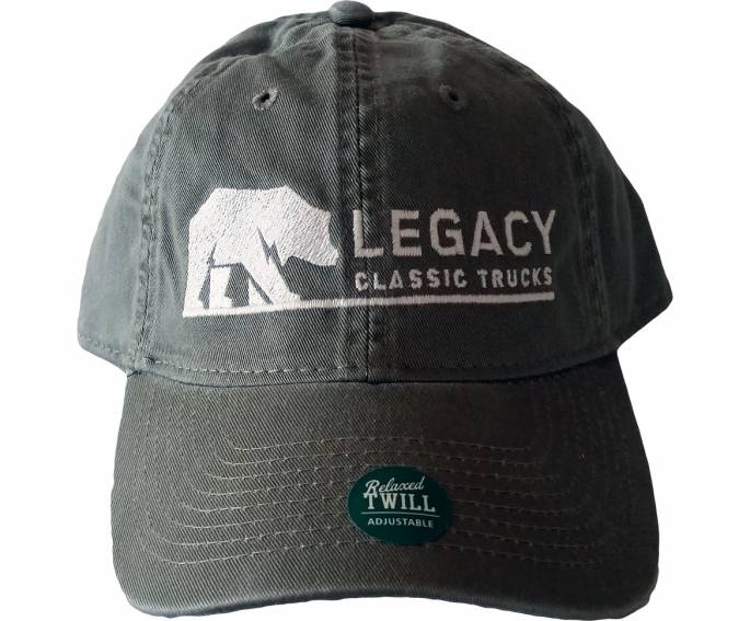 Legacy Classic Trucks Lifestyle & Apparel - Legacy Twill Hat - Green