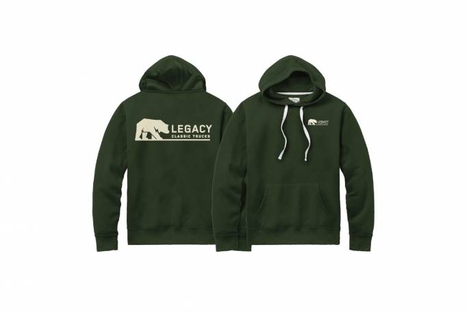 Legacy Classic Trucks Lifestyle & Apparel - Legacy Stadium Hoodie - Hunter Green