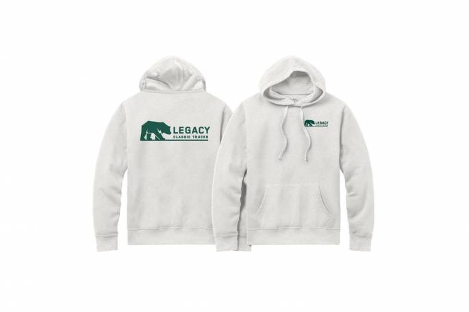 Legacy Classic Trucks Lifestyle & Apparel - Legacy Stadium Hoodie - Oatmeal