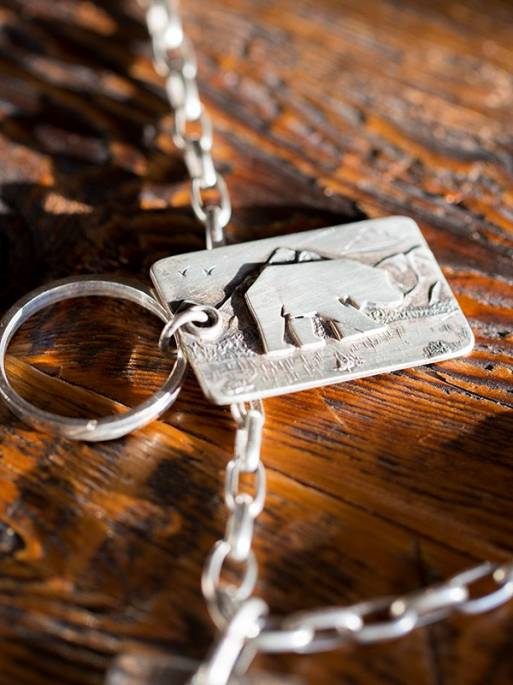 Legacy Classic Trucks Lifestyle & Apparel - Comstock Heritage Sterling Silver Legacy Pendant