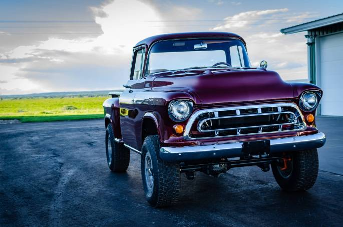Legacy Classic Trucks Inventory - 1955 Chevy Napco 4x4 Conversion