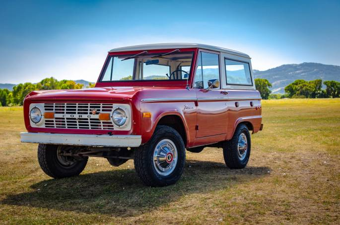 Legacy Classic Trucks Inventory - 1974 Ford Bronco - Original