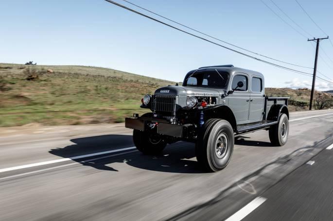 Legacy Classic Trucks Inventory - 1949 Dodge Power Wagon 4 Door - Anvil Grey