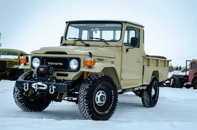 Legacy Classic Trucks Inventory - 1985 Toyota Land Cruiser F45