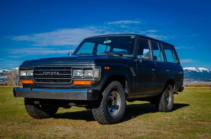 Legacy Classic Trucks Inventory - 1989 Toyota Land Cruiser FJ62