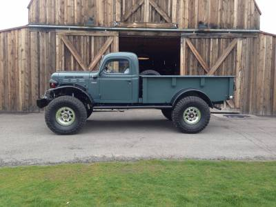 Legacy Classic Trucks Inventory - 1947 Dodge Power Wagon 2DR - Image 2