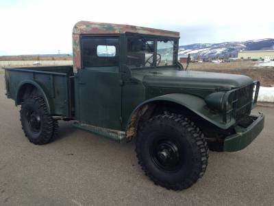 Legacy Classic Trucks Inventory - 1958 Dodge M-37 - Image 1