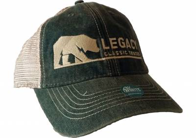 Legacy Classic Trucks Lifestyle & Apparel - Legacy Trucker Hat - Army Green - Image 2