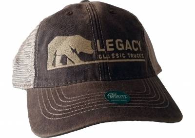 legacy trucker hat brown legacy classic trucks lifestyle products