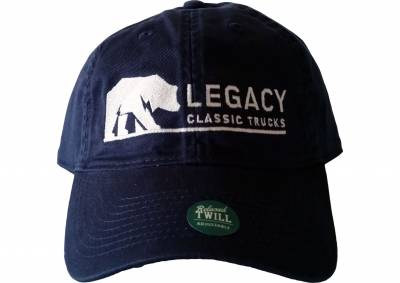 Legacy Classic Trucks Lifestyle & Apparel - Legacy Twill Hat - Navy - Image 1