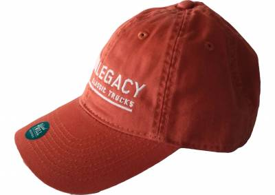 Legacy Classic Trucks Lifestyle & Apparel - Legacy Twill Hat - Orange - Image 2