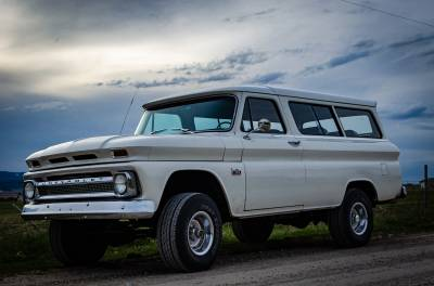 Legacy Classic Trucks Inventory - 1966 Chevy Suburban Custom - Image 2