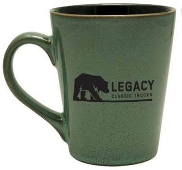 Legacy Classic Trucks Lifestyle & Apparel - Legacy Ceramic Cafe Mug - Image 2
