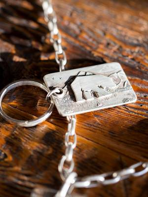 Legacy Classic Trucks Lifestyle & Apparel - Comstock Heritage Sterling Silver Legacy Pendant - Image 1
